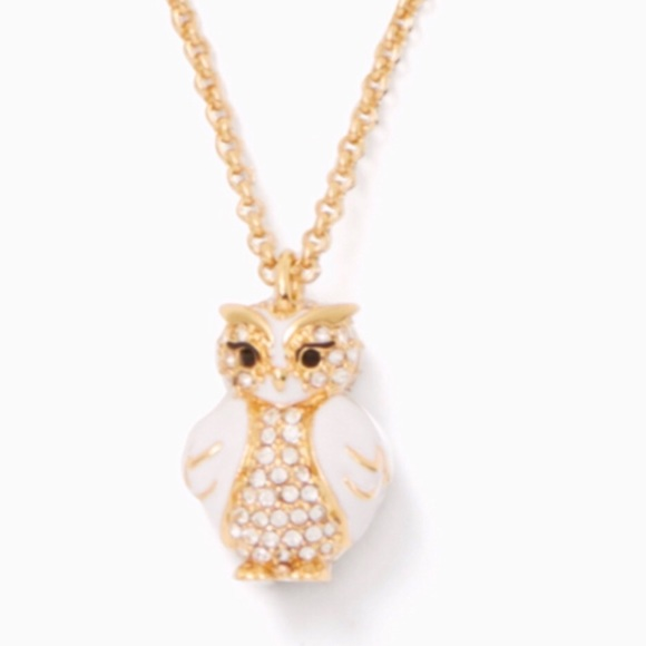 kate spade Jewelry - Star Bright Owl Mini Pendant